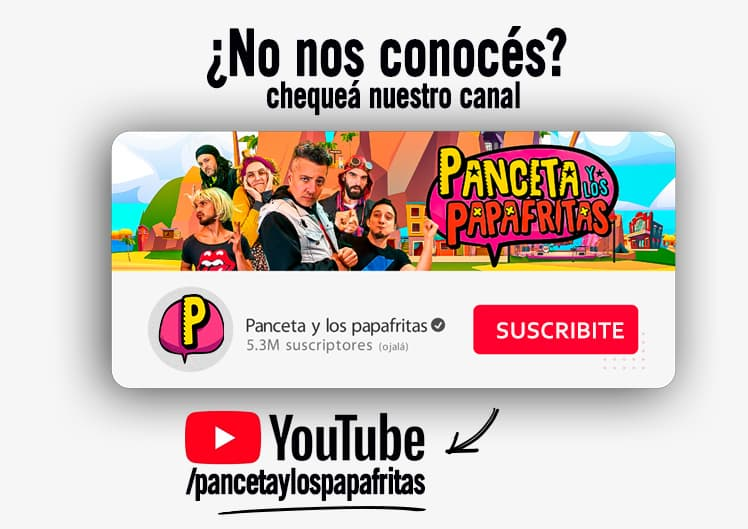 Canal de YouTube - Panceta